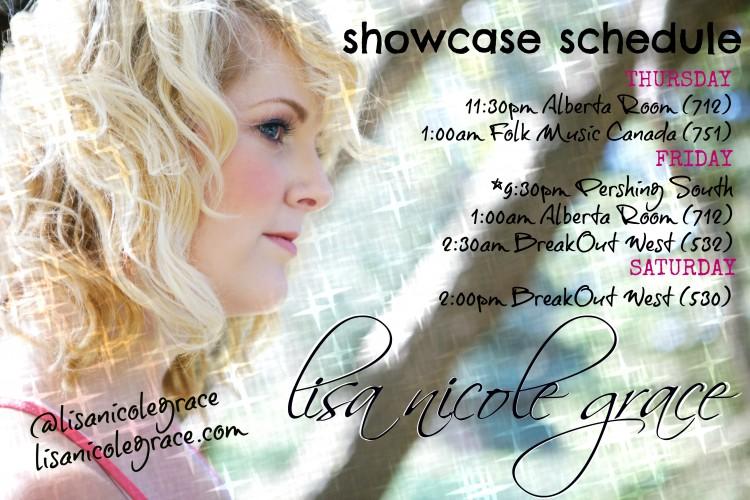 Full FAI Showcase Schedule
